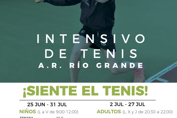 Intensivo de Tenis AR Río Grande 2018