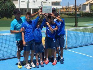 NSTA/AR Río Grande campeón masculino andalucía alevín