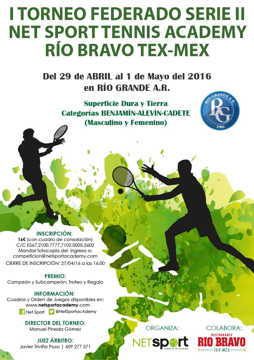 cartel I Torneo NSTA-Rio Bravo
